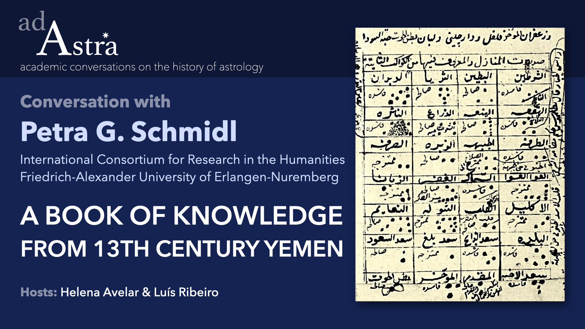 A Book Of Knowledge From 13th Century Yemen With Petra Schmidl