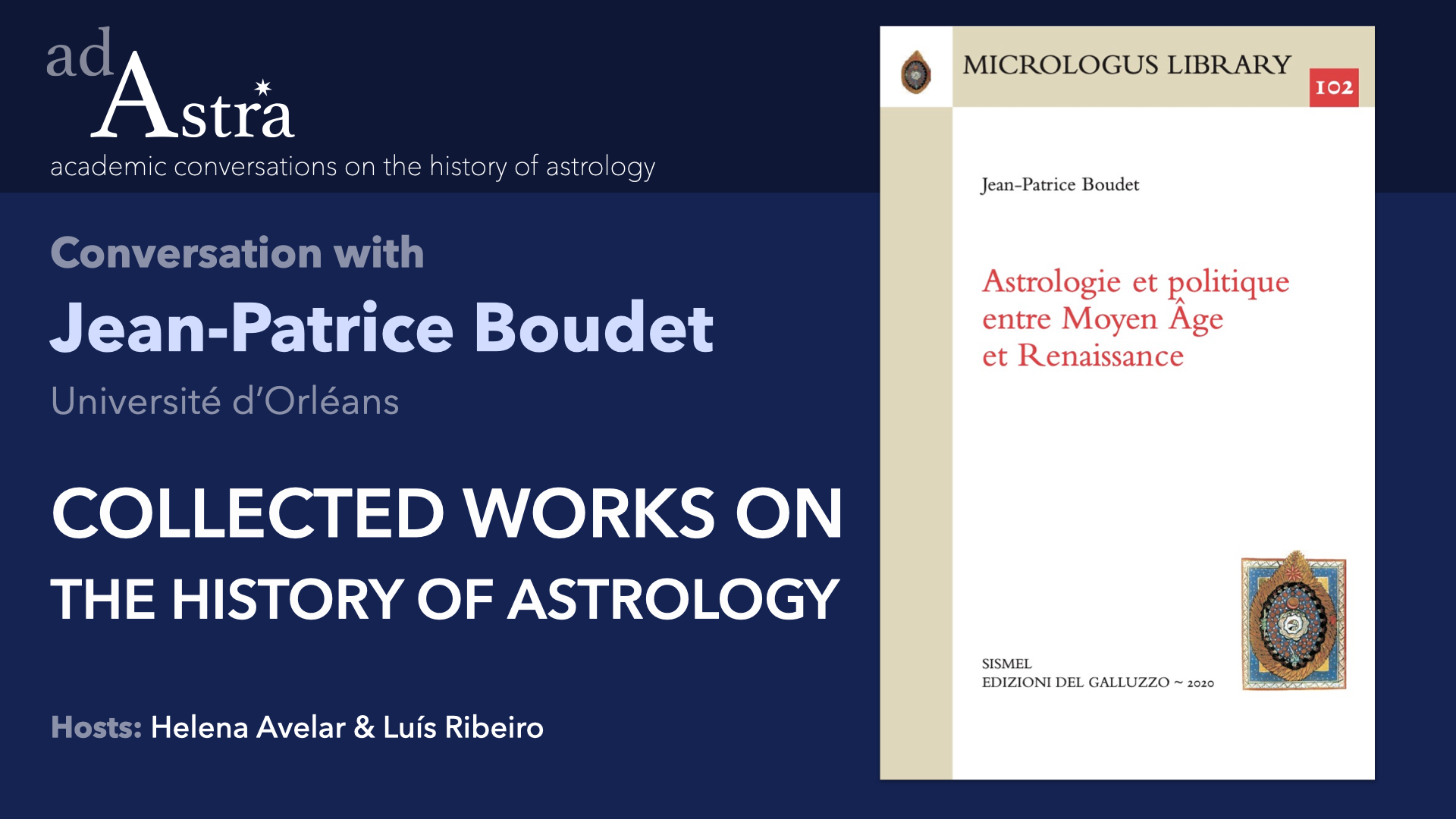Collected Works On The History Of Astrology With Jean-Patrice Boudet